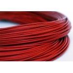 Lederband Rot