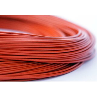 1,5mm Antilopenlederband, orange, rund